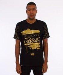 Patriotic-Witam Cię T-shirt Czarny/Złoty