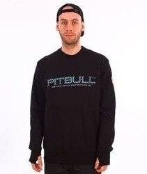 Pit Bull West Coast-Blue Eyed Devil 18 Crewneck Bluza Czarna