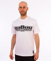 Pit Bull West Coast-Classic Boxing T-Shirt Biały