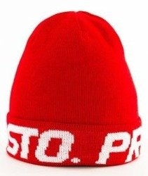 Prosto-Around Wintercap Czapka Zimowa Red