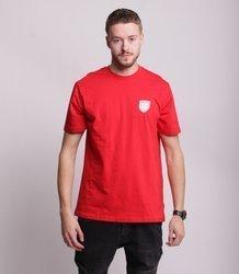 Prosto LILSHIELD T-Shirt Czerwony