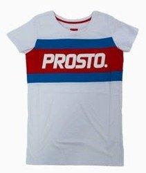Prosto-Pitch T-shirt Damski Biały