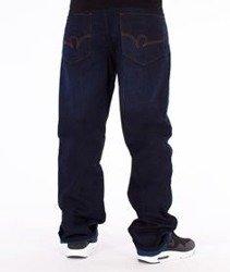 RocaWear-Dark Night Blue Loose Fit Spodnie Jeans R00J9914A 858