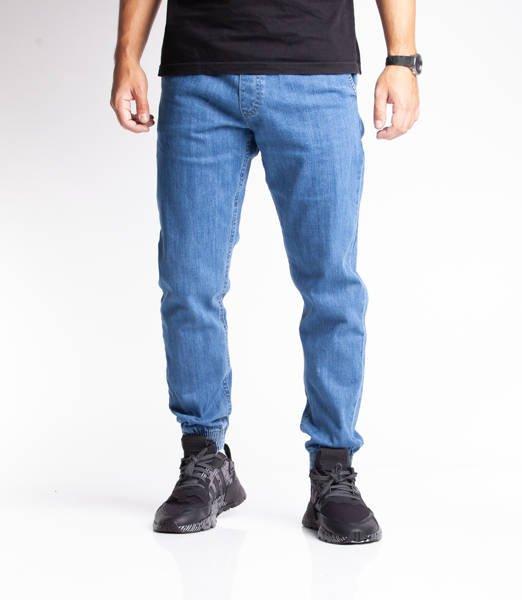 Smoke Story SKIN Jogger Slim Jeans Light Blue