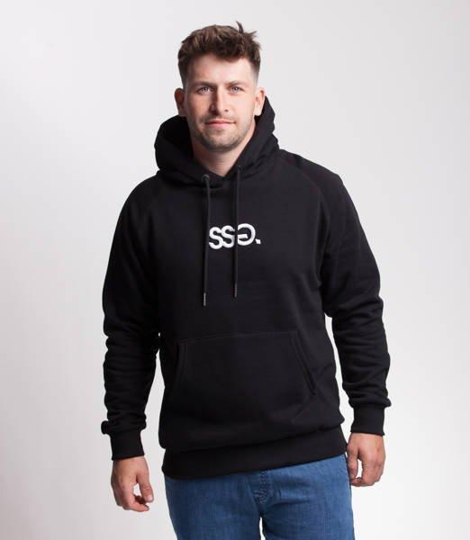 Smoke Story SSG 3D EFFECT Bluza z Kapturem Czarny