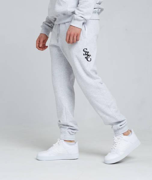 Smoke Story SSG SLANT Spodnie Dresowe Slim Szary
