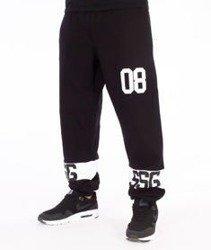SmokeStory-08 Regular Spodnie Dresowe Czarne