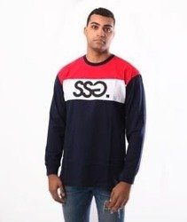 SmokeStory-Colors Longsleeve Granat