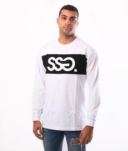 SmokeStory-SSG Belt Longsleeve Biały