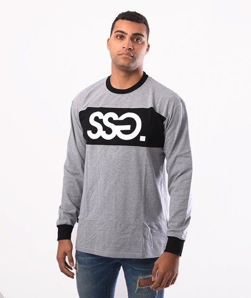 SmokeStory-SSG Belt Longsleeve Szary