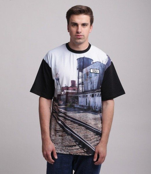 SmokeStory-Station T-Shirt Czarny