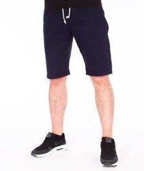 SmokeStory-Szorty Chino Guma Krótkie Spodnie Granatowe