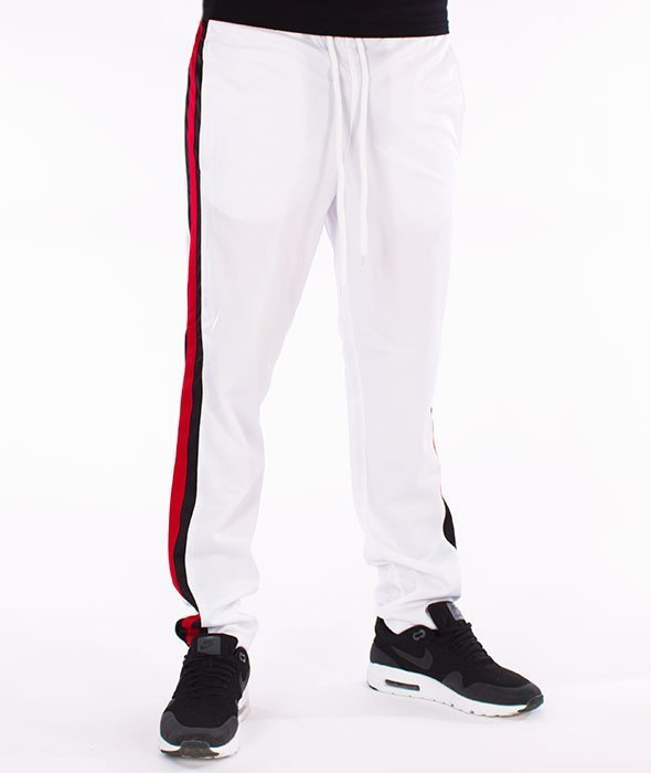 Southpole-Track Pants Side Panel Spodnie Dresowe White/Red