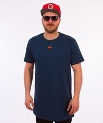 Stoprocent-100proc Long T-Shirt Granatowy