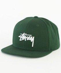 Stussy-Stock Sp17 Snapback Czapka Green