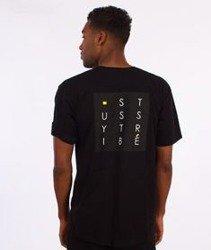 Stussy-Tribe Box T-Shirt Czarny
