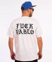 Swallows&Daggers-Fuck Pablo T-Shirt Biały