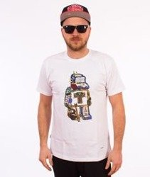 Tabasko-Doodle T-Shirt Biały