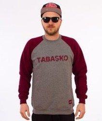 Tabasko-Scratch Bluza Szara/Bordowa