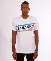 Tabasko-Skew T-Shirt Biały