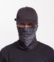 UNHUMAN- komin czarna bandana