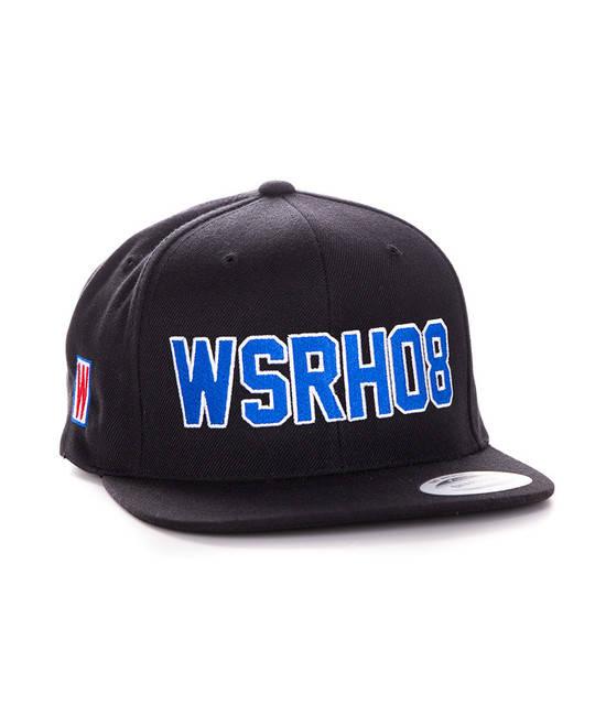 WSRH 08 Snapback Czarny