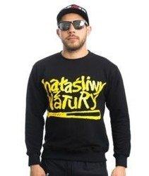 WSRH HAŁAŚLIWY Bluza bez kaptura Czarny/Żółty