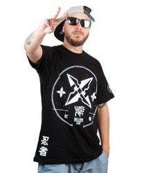 WSRH-Shuriken T-shirt Czarny
