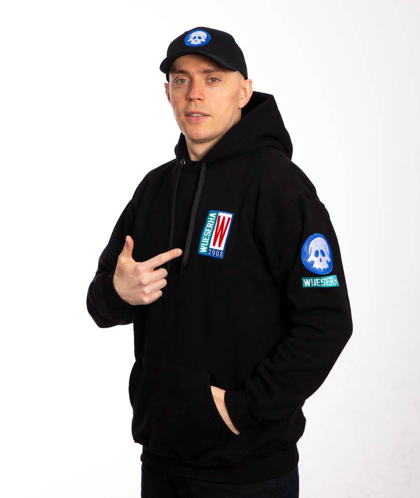 WSRH WSRH 08 Bluza z Kapturem Czarny