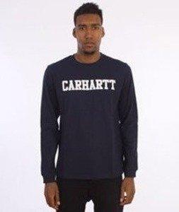 Carhartt-College Longsleeve Navy/White