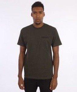 Carhartt-College Script LT  T-Shirt Cypress/Black