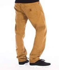 Carhartt-Racket Pants Spodnie Bronze Stone Washed L32