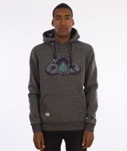 Cayler & Sons-BKNY Hoody Bluza Kaptur Dark Grey/Heather Mint