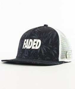 Cayler & Sons-Faded Budz Trucker Black/Grey
