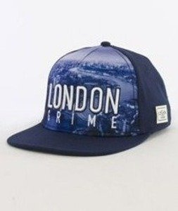Cayler & Sons-London Skyline Snapback Navy/White
