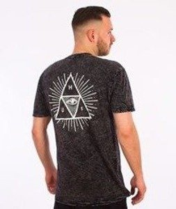 HUF-Third Eye Triangle T-Shirt Czarny