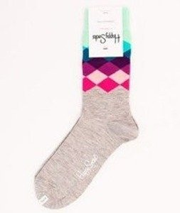 Happy Socks-Faded Diamonds [FAD01-9000]