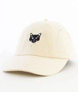 Hype-Meow Dad Hat Czapka Z Daszkiem Cream