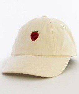 Hype-Strawberry Dad Hat Czapka Z Daszkiem Cream