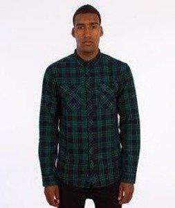 Iriedaily-Old Fella Shirt Koszula Green Blue