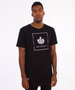 K1X-Glitch Logo Long T-shirt Czarna
