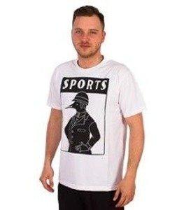 Parra-Sports T-Shirt Biały