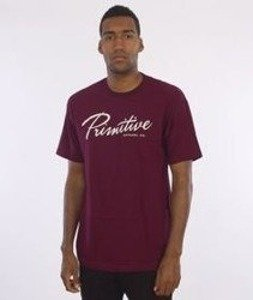 Primitive-Hudson T-Shirt Bordowy