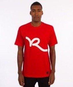 Rocawear-Roca Logo T-Shirt Czerwony