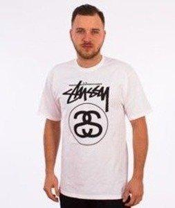 Stussy-Stock Link T-Shirt Biały
