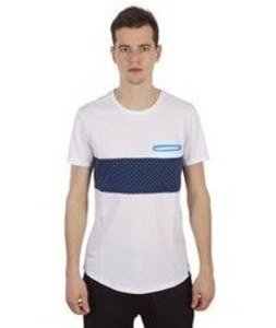 Two Angle-Yatack T-Shirt White/Blue