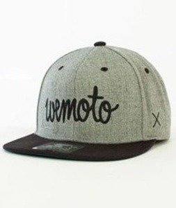Wemoto-Script  Starter Snapback Heather/Black