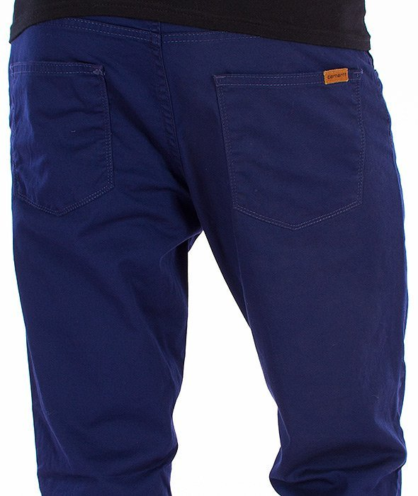Carhartt-Riot Pants Spodnie Labor Blue Rinsed L32