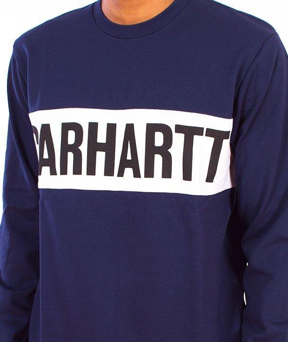 Carhartt-Shore Sweat Blue/White