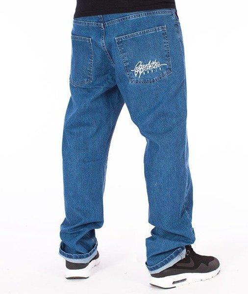 szczegóły 50% zniżki wybór premium El Polako-Written Slim Jeans Spodnie Light Blue